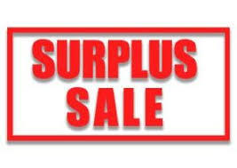 Notice of Surplus Sale