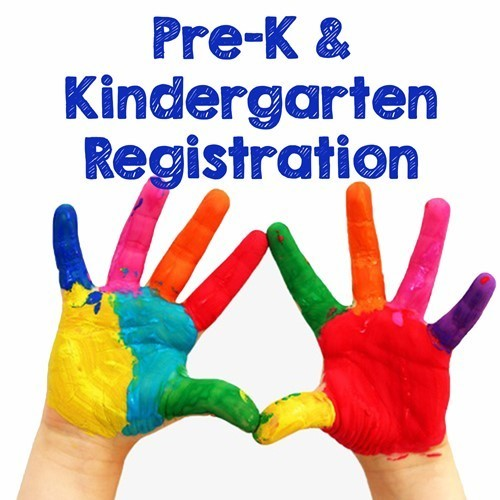 Pre-K and Kindergarten Registration Postponed
