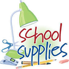 Supply list for 3rd grade