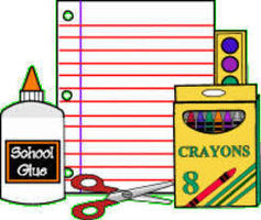 Supply list for 1st grade students
