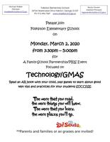 Technology/GMAS Family Event