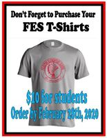 FES T-shirts On Sale Until Friday - February 28th