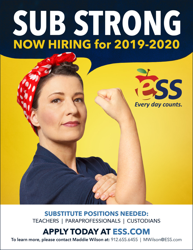 ESS Recruitment flyer
