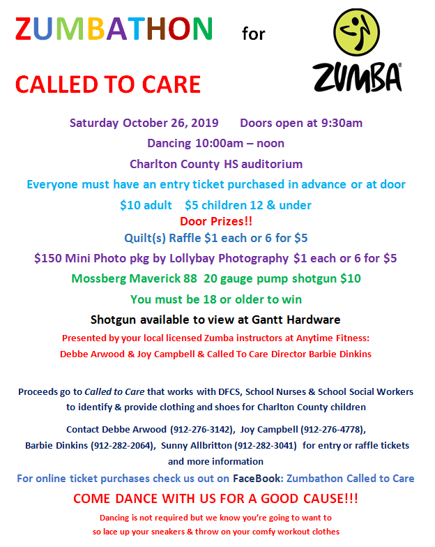 zumba called to care