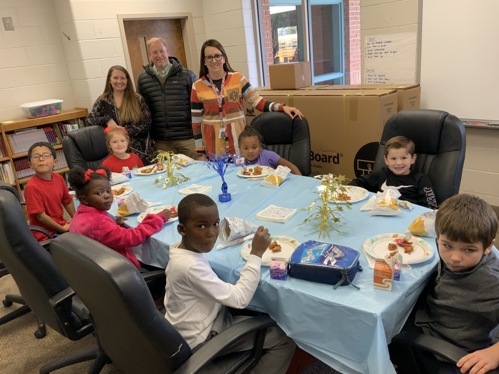 Lunch with Principal for PBIS