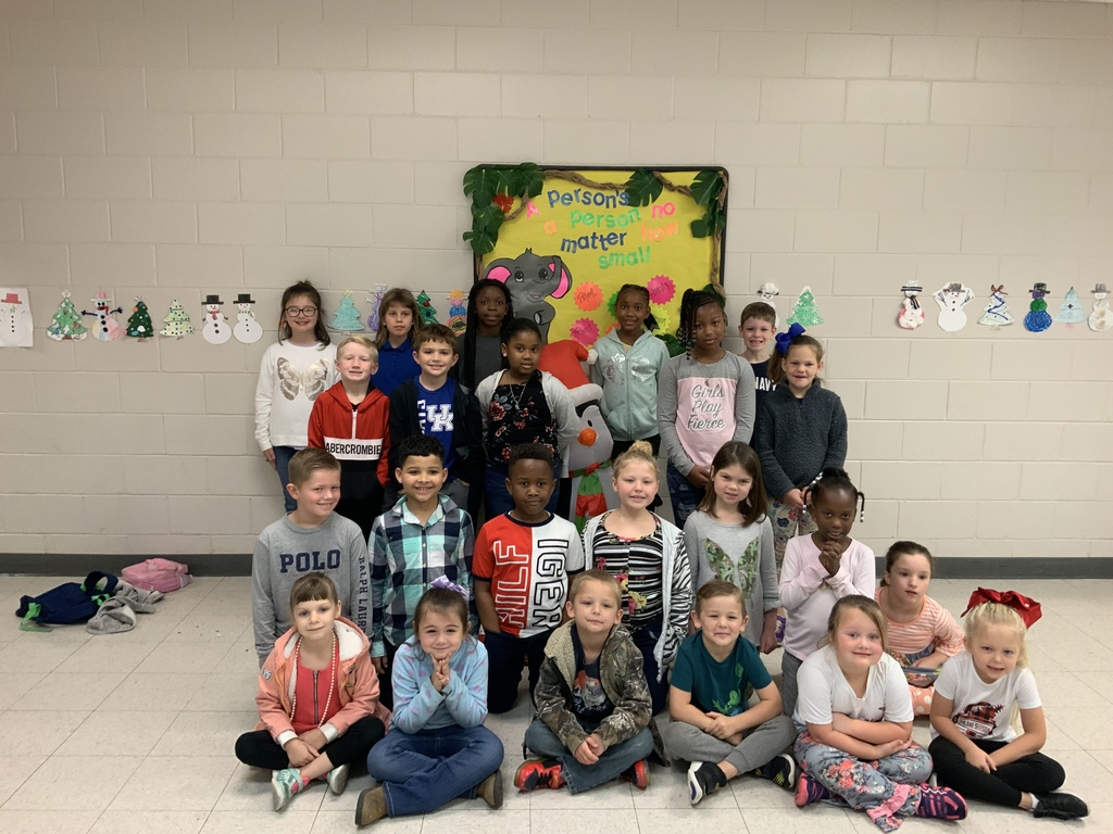 Character Ed. Students recognized for being Responsible
