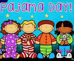 Pajama Day Monday, Dec. 16th